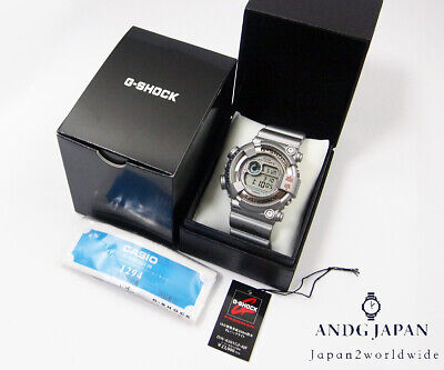 G-SHOCK FROGMAN Master of G DW-8201GF-8JF JAPAN 2001 METAL SILVER Free ship  for sale  Shipping to United States