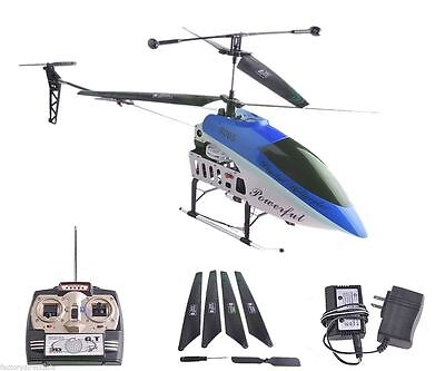 2 Speed Gt Qs8005 3 5 Ch Rc Helicopter Builtin Gyro New Version Blue New