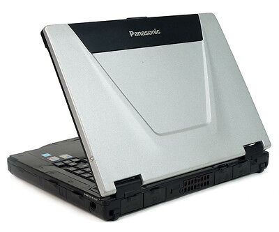 Panasonic Toughbook CF-52 Laptop 4GB RAM Wifi Win7 750GB HD DVDRW Mint Shape