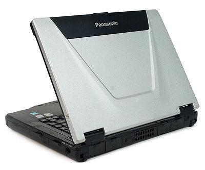 Panasonic Toughbook CF-52 Laptop 4GB RAM Wifi Win7 750GB HD DVDRW Mint Shape