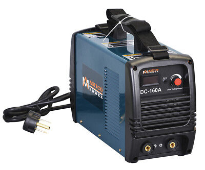 S160am 160 Amp Stick Arc Dc Welder 115v 230v Dual Voltage Welding Soldering