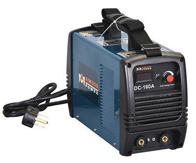 S160AM, 160 Amp Stick ARC DC Welder, 115V & 230V Dual Voltage Welding Soldering