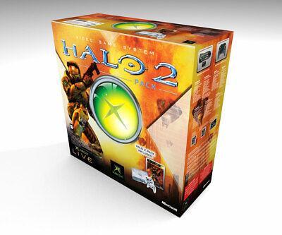 Caja vacia Xbox Clásica Halo 2 | Xbox Clásica Halo 2 empty...