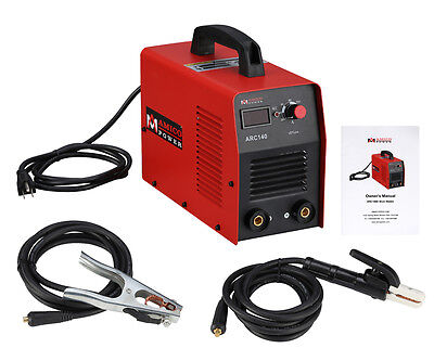 140 Amp Digital Display Lcd Stickarc Welder Igbt Dc Inverter Welding New