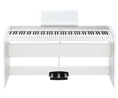 Korg B1SP Digital Piano With Stand White Digital Piano Package (White) for sale  Shipping to South Africa