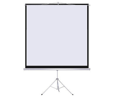 """New 100"""" Tripod Portable Projection Screen Square 70x70 Projector Stand Office on Rummage"""