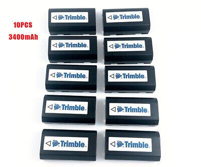 New10pcs 54344 Gps Battery 7.2v 3400mah For Trimble 5700 5800 R6 R7 R8 Sps7