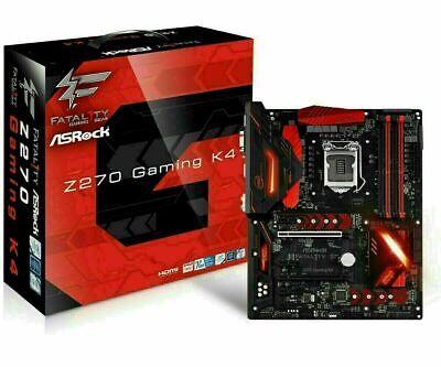 Motherboard Z270  ASRock Fatal1ty ATX  GAMING K4 Socket 1151 best for i7 (Best Motherboard For I7 7700k)