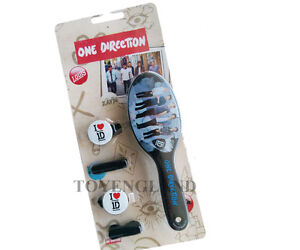 ONE DIRECTION HAIR BRUSH & ACCESSORIES SET (BLACK)