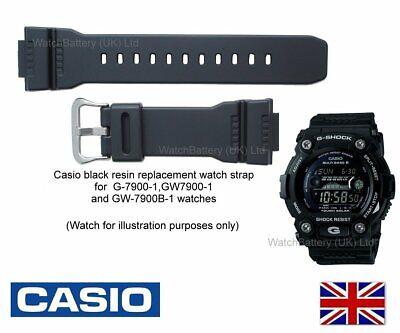 Genuine Casio Watch Strap Band G-7900, G-7900B, GW-7900, GW-7900B-1, GW-7900-1