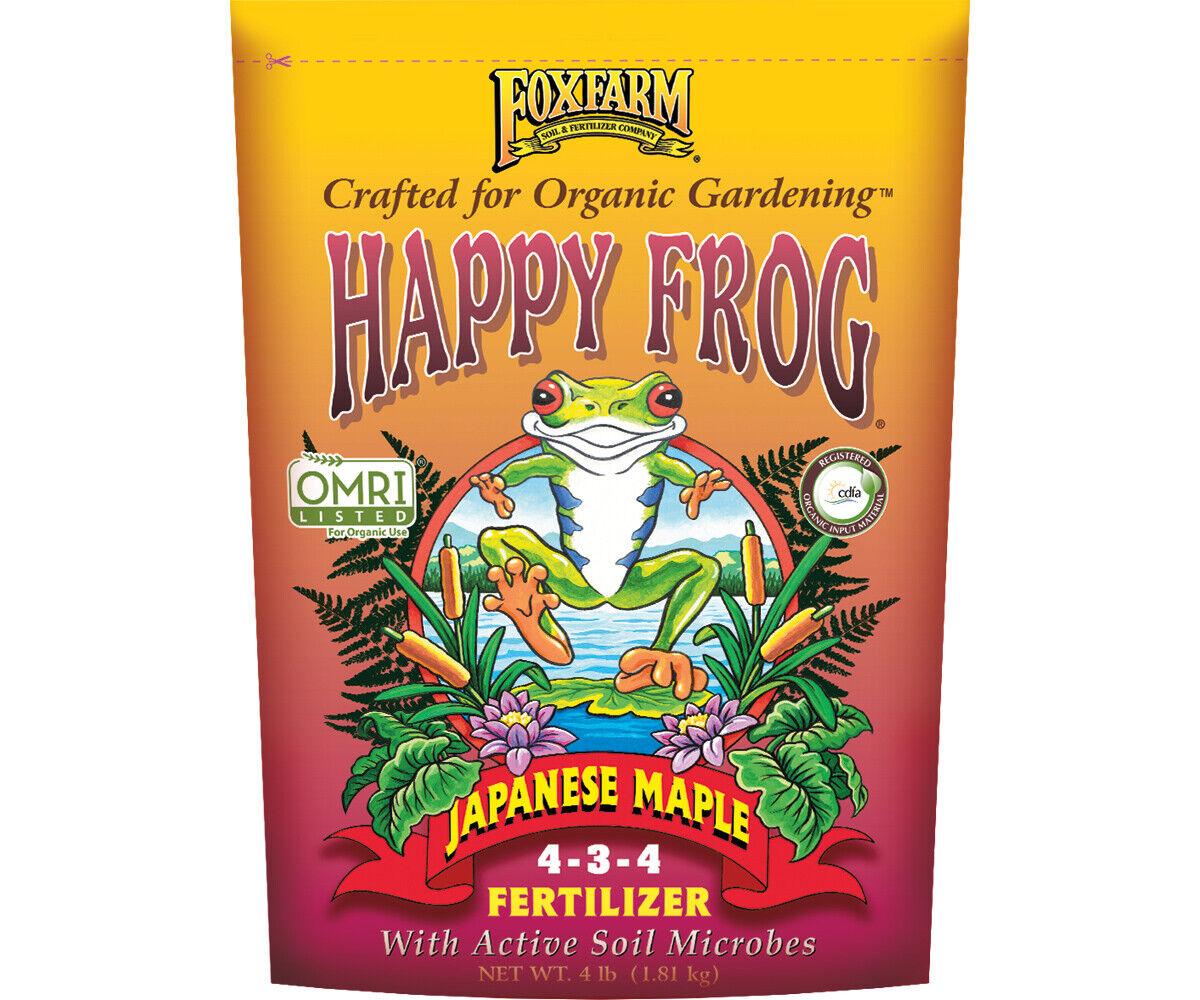 Fox Farm Happy Frog Japanese Maple 4 lb Pound - organic natu