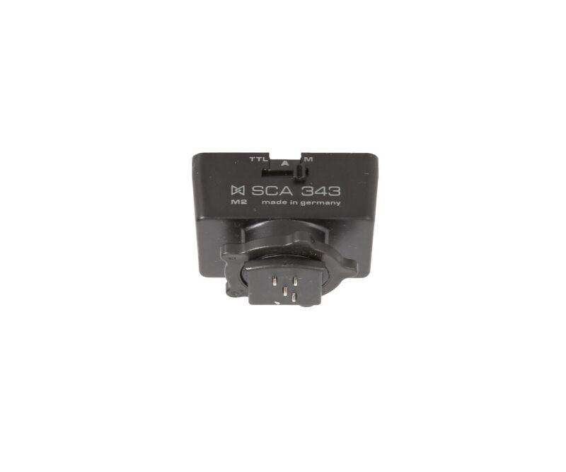 Metz SCA 343/M2 (Nikon EM,FA,FE/2,FG,FM2,N2000,N2020)/Requires SCA 300 - EX