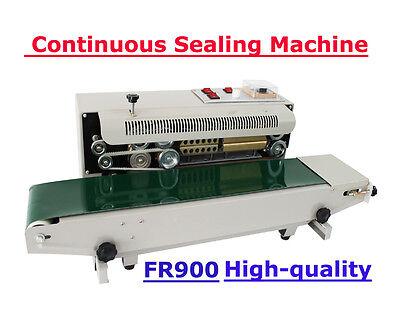 110v Continuous Auto Band Sealing Machine Sealer Horizontal Membrane Bag Film