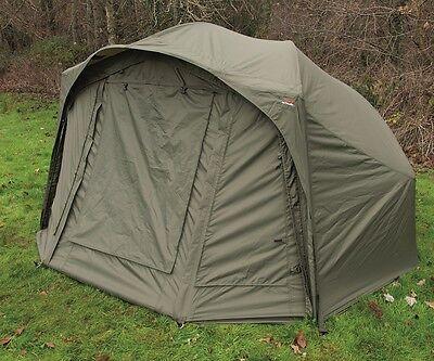 TF Gear Hardcore Carp Fishing Bivvy Heavy Duty Waterproof Brolly Tent - EX DEMO