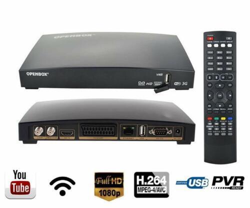 Détails sur OPENBOX V8S DVB-S2 1080P HD TV Satellite Receiver Set Top Box  Support WEB TV IF