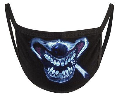 Behelfs-Mundschutz Maske Gesichtsmaske Staubmaske Smokin Clown *NEU*