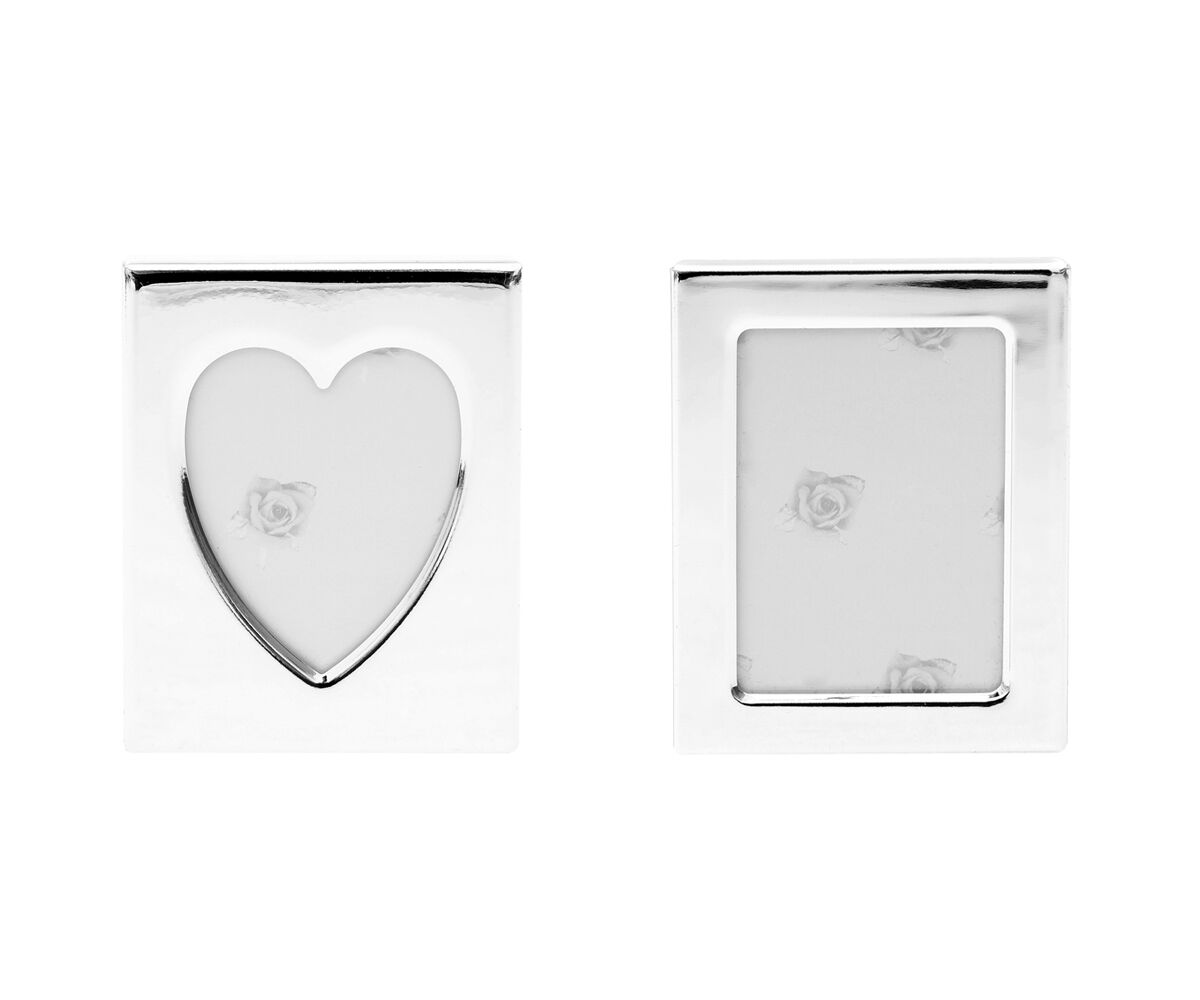 Heart Photo Frame with SCHNAUZER DOG Sterling Silver /& personalised engraving
