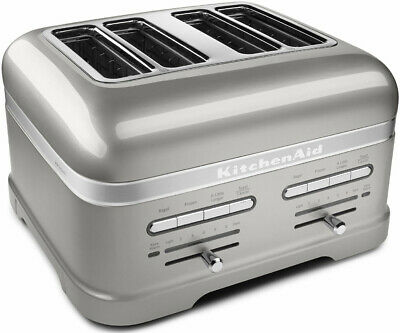 KITCHENAID KMT4203SR, Pro Line Series 4-Slice Pearl Silver Automatic Toaster