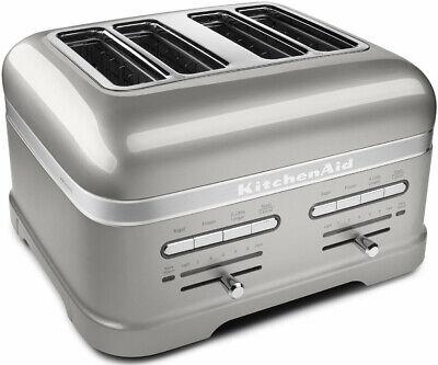 KITCHENAID KMT4203SR, Pro Line Series 4-Slice Pearl Silver Automatic Toaster
