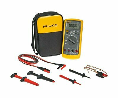 Fluke 87ve2 Industrial Electrician Combo Kit Industrial True Rms Heavy Duty