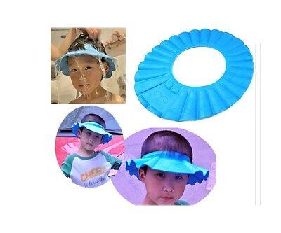 Baby Kids Children Shampoo Bath Shower Cap Hat Wash Hair Shield Eyes Shampoo