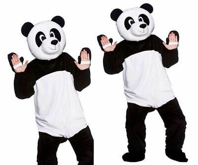 Neu Erwachsene Giant Panda Maskottchen Tier Kostüm Wild Bär Unisex ()