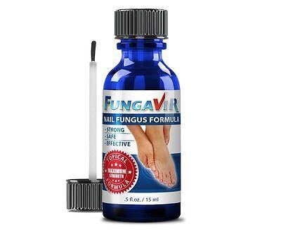 Fungavir   Nail Fungal Treatment   Liquid Fungus Infection Solution   1 Bottle