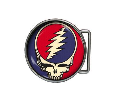 Grateful Dead Belt Buckle Handmade Jerry Garcia Accessories gift Belt Accessories Buckle