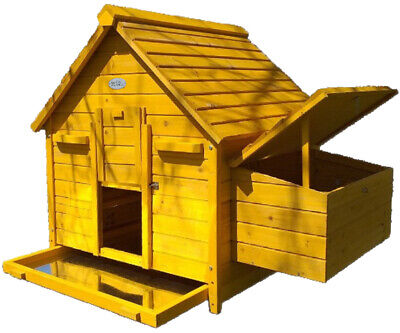 CHICKEN COOP ESBET HEN HOUSE POULTRY ARK HOME NEST BOX COUP COOPS RABBIT HUTCH