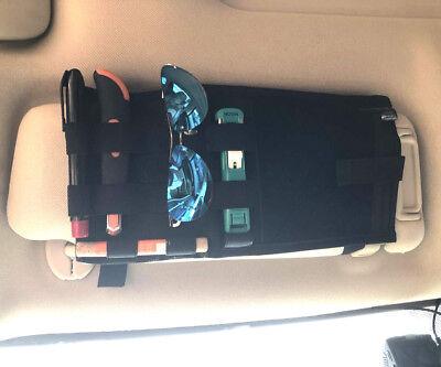 Tactical Molle Sun Visor Pouch Car Organizer Panel Cover Portable Storage (Sun Visor Organizer)