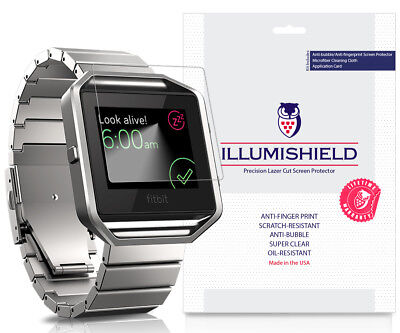 iLLumiShield 3-Pack Ultra Clear HD Fitbit Blaze Screen