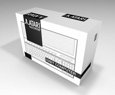 Caja vacia Atari Falcon 030 blanca | Atari Falcon 030 white empty...