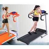 New 500W Folding Electric Treadmill Portable Motorized Running Machine Black