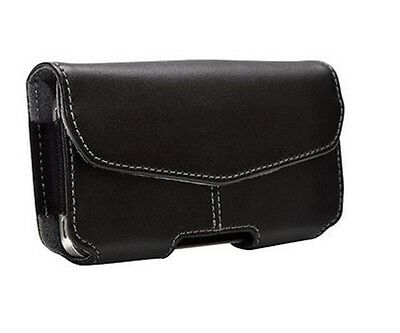 PUREGEAR CASELUX UNIVERSAL LEATHER POUCH FITS APPLE IPHONE 4 / 4S & SIMILAR SIZE