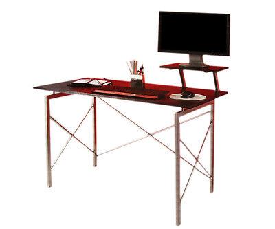 Schreibtisch mit Monitoraufsatz Tisch Bürotisch Büroschreibtisch Computertisch