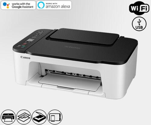 Wireless All-In-One Printer Copier Scanner WiFi Alexa Smart (Ink Not Included)