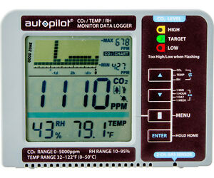 Autopilot NEW Data Logger & Desktop CO2 Monitor - Co2 Temperature Humidity LCD
