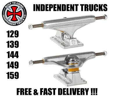 INDEPENDENT INDY TRUCKS - PAIR - 129 139 144 149 159 STAGE 11 - SKATE SKATEBOARD Independent Skate Trucks Stage