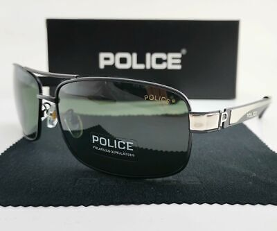 2019 Men Women Polarized Eyewear Driving Sunglasses Unisex Metal Police Glasses (Police Eyewear)