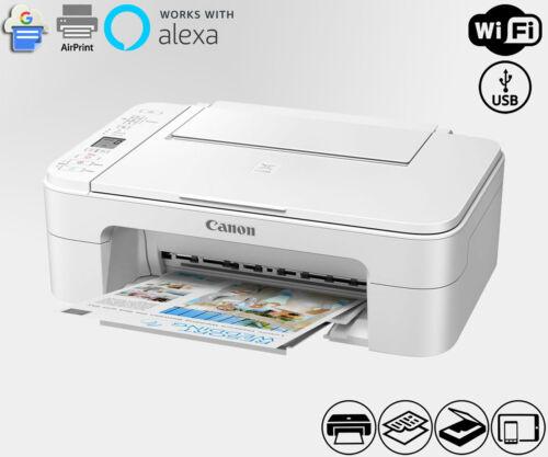 Wireless All-In-One Printer Copier Scanner WiFi Alexa TS3322 (Ink Not Included)
