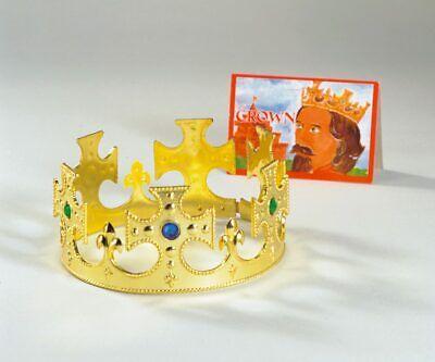 Krone König Prinz Kinderkönig Erwachsene Größenverstellbar