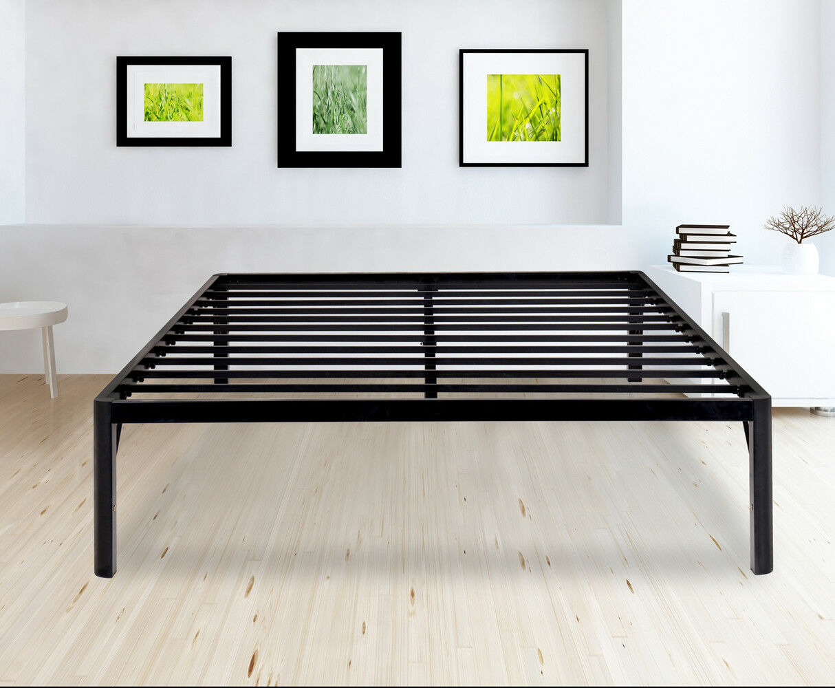 SLEEPLACE Dura Metal Steel Slate Bed Frame - S3000 Twin,Full