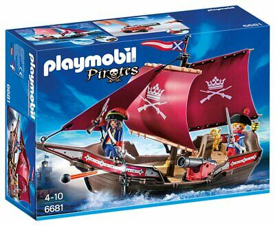 Playmobil Floating Pirates ' Patrol Boat Floating Cannon Figures Accessories Fun
