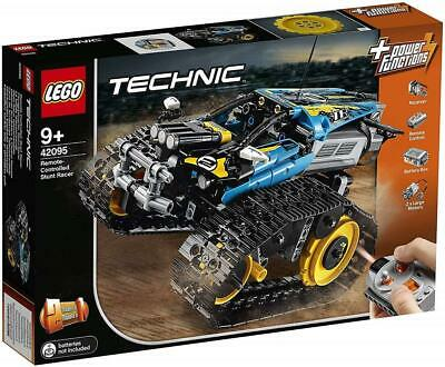 LEGO 42095 Technic 2-in-1 Remote Controlled Stunt Racer Set