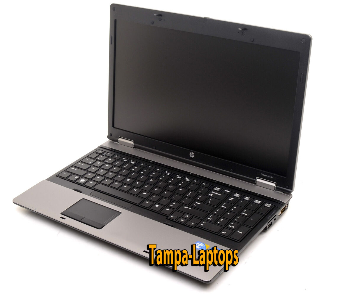 HP PROBOOK LAPTOP COMPUTER 2 CORE 2.1GHz 4GB 15.6 HD DVD WINDOWS 10 WIN WiFi PC