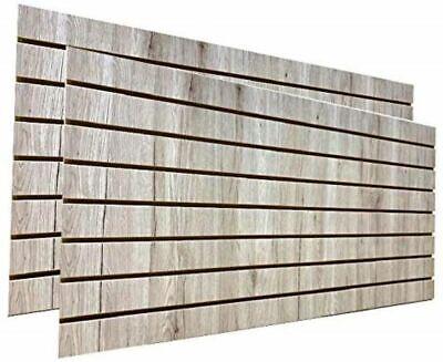 Barnwood Slatwall Panels 24h X 48l Set Of 2 Panels