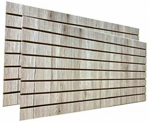 "Barnwood Slatwall Panels 24""H x 48""L (Set of 2 Panels)"