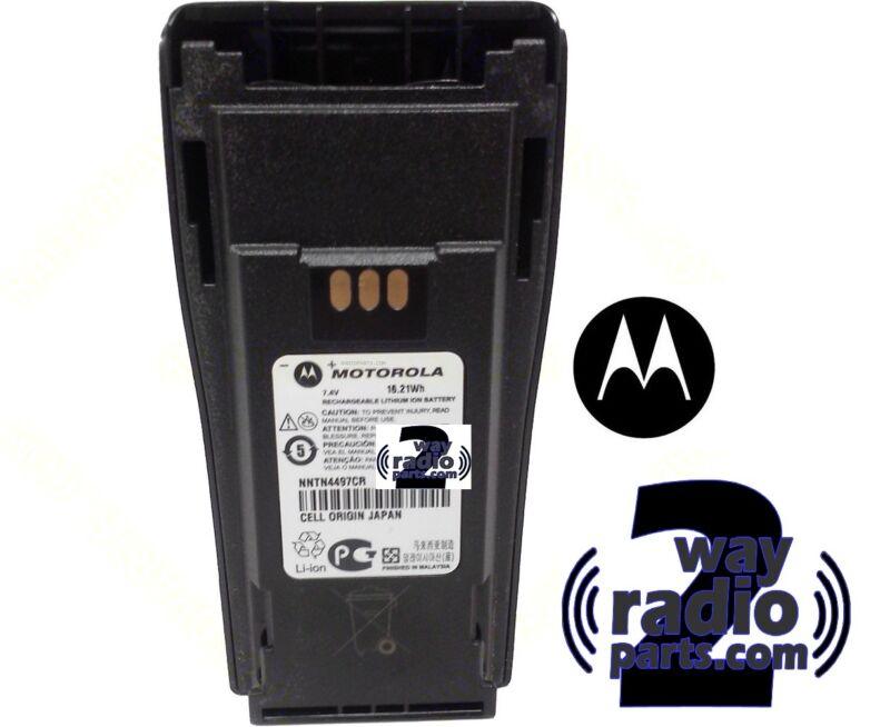 New REAL Motorola Battery NNTN4497DR Factory Fresh! for CP200 XLS PR400(VHF UHF)