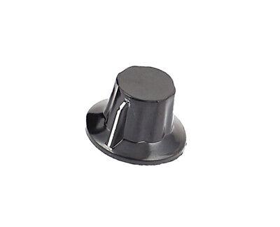 K18-2 6mm Dia Shaft Potentiometer Rotary Knob Black 1pcs