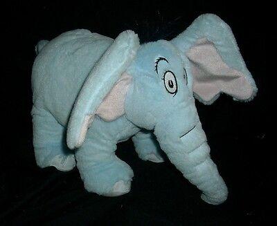 Dr.Seuss Elefant Horton Hears Blau Plüschtier Plüsch KOHL'S Pflege für Kinder ()